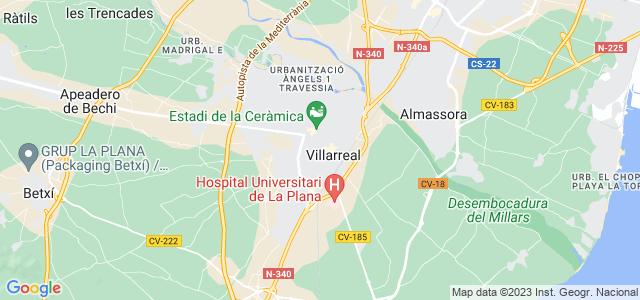 Mapa de Vila-real
