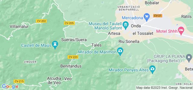 Mapa de Tales