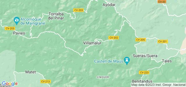 Mapa de Villamalur