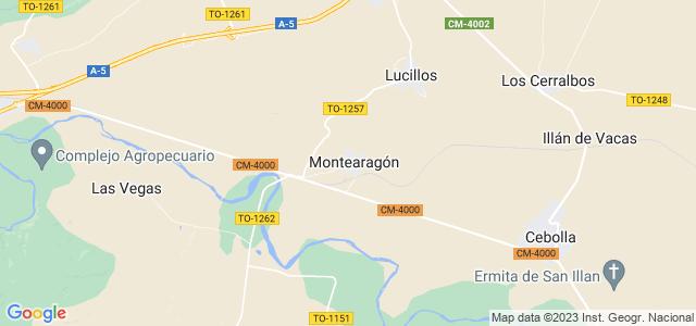 Mapa de Montearagón