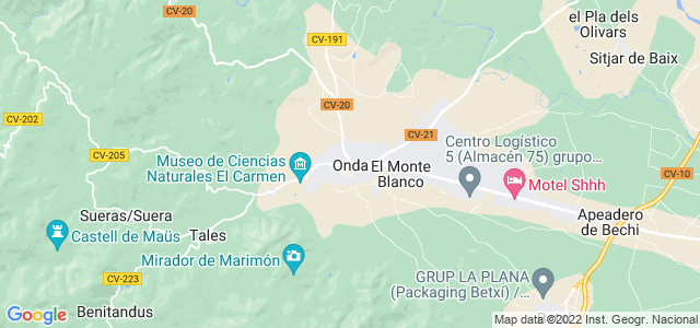 Mapa de Onda