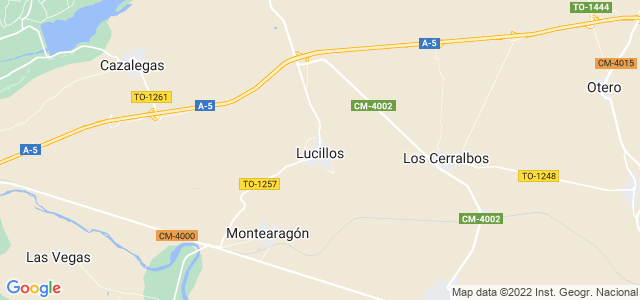 Mapa de Lucillos