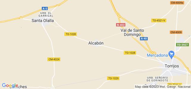 Mapa de Alcabón