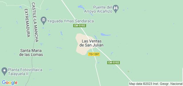Mapa de Ventas de San Julián