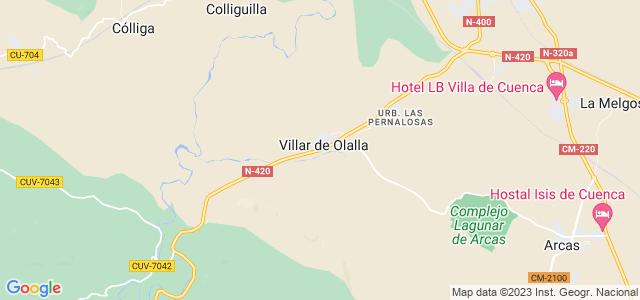 Mapa de Villar de Olalla