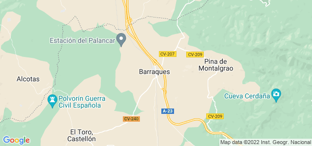 Mapa de Barracas