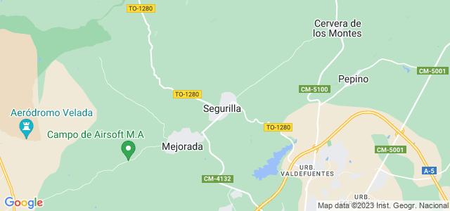 Mapa de Segurilla