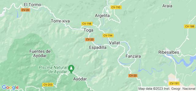 Mapa de Espadilla