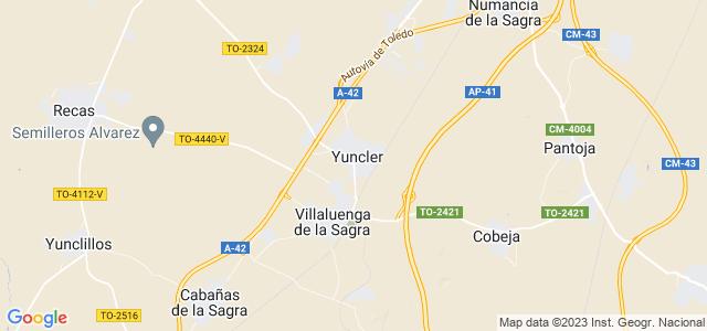 Mapa de Yuncler