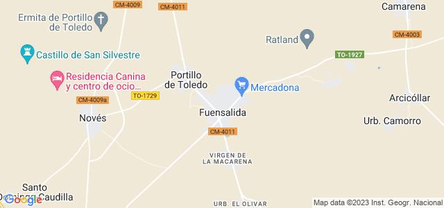 Mapa de Fuensalida