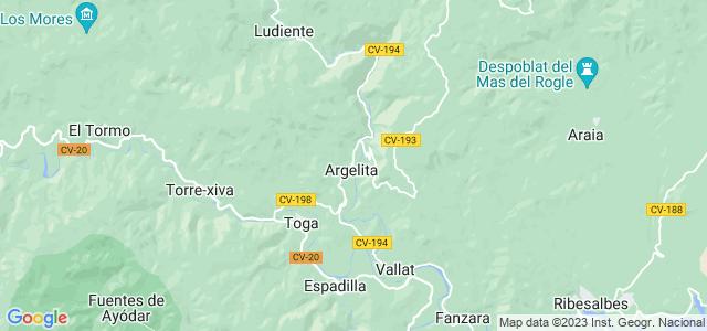 Mapa de Argelita