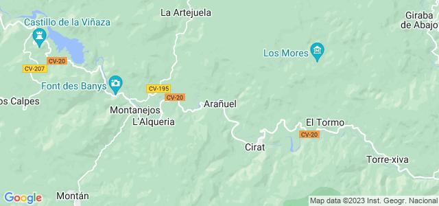 Mapa de Arañuel