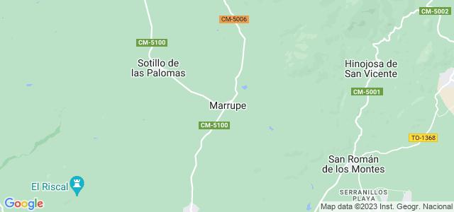 Mapa de Marrupe