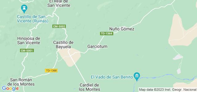Mapa de Garciotum