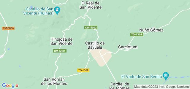 Mapa de Castillo de Bayuela