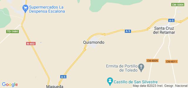 Mapa de Quismondo