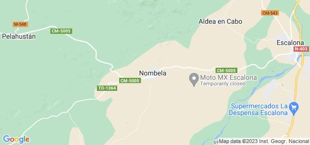 Mapa de Nombela