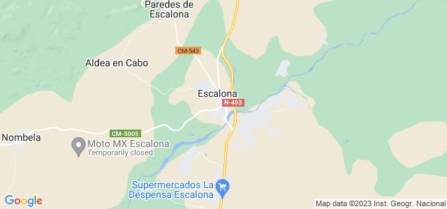 Mapa de Escalona