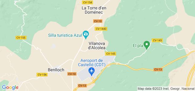 Mapa de Vilanova dAlcolea