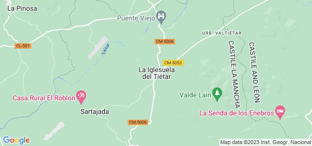 Mapa de Iglesuela