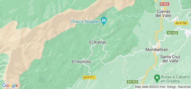 Mapa de Arenal
