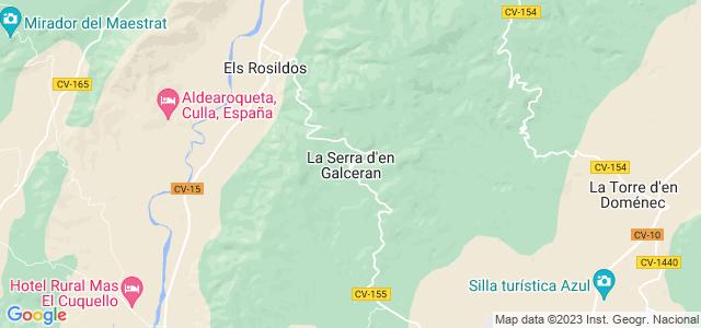 Mapa de Sierra Engarcerán
