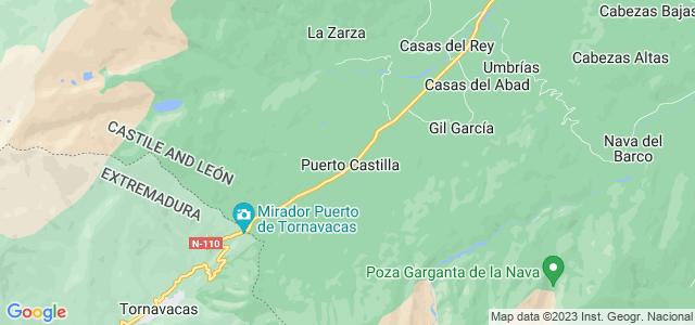 Mapa de Puerto Castilla