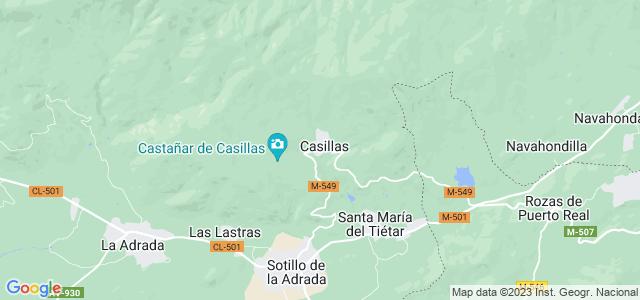 Mapa de Casillas
