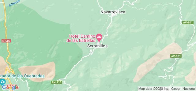 Mapa de Serranillos