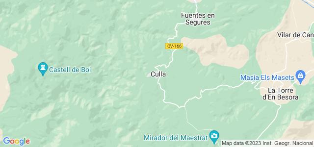 Mapa de Culla
