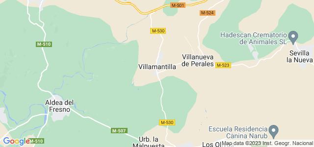 Mapa de Villamantilla