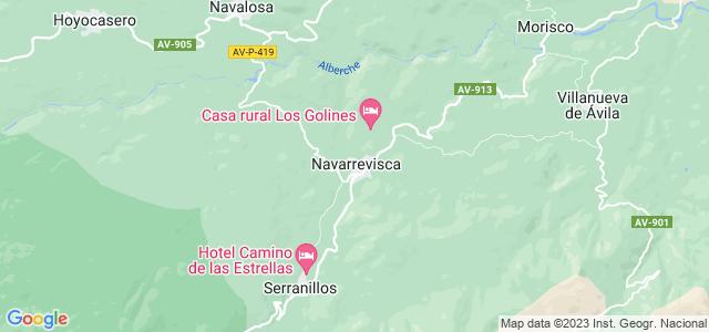 Mapa de Navarrevisca