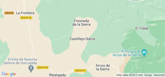 Mapa de Castillejo-Sierra