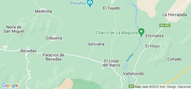 Mapa de Junciana