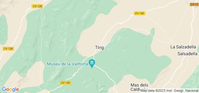 Mapa de Tírig