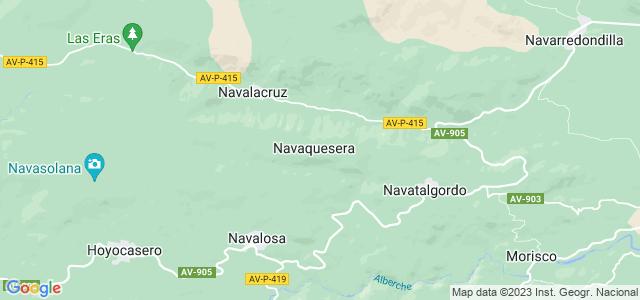 Mapa de Navaquesera