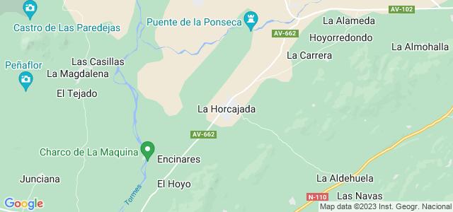 Mapa de Horcajada