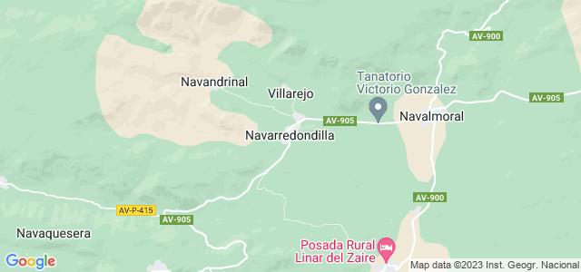 Mapa de Navarredondilla