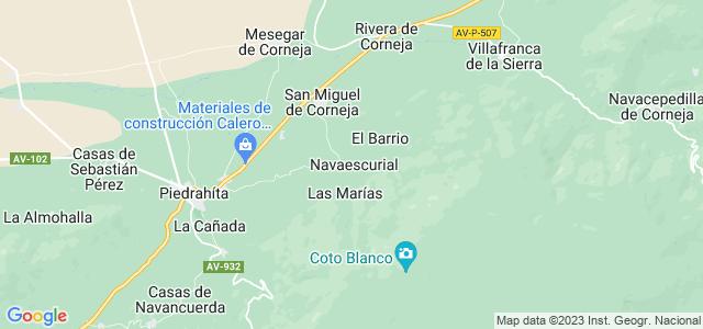 Mapa de Navaescurial