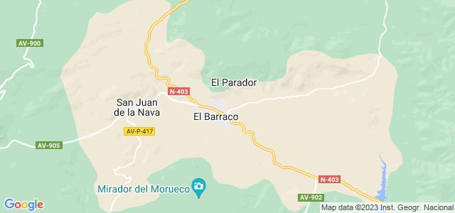 Mapa de Barraco