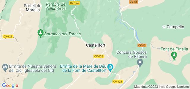 Mapa de Castellfort