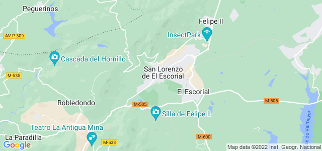 Mapa de San Lorenzo de El Escorial