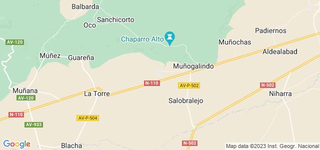 Mapa de Santa María del Arroyo