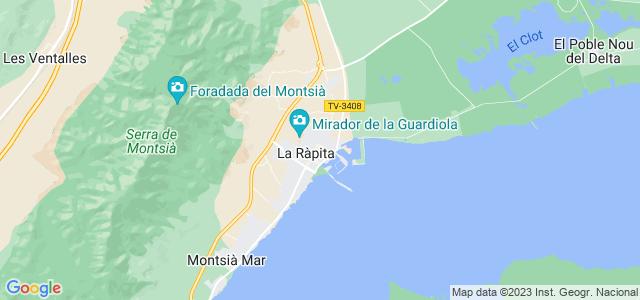 Mapa de Sant Carles de la Ràpita