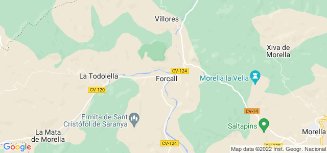 Mapa de Forcall