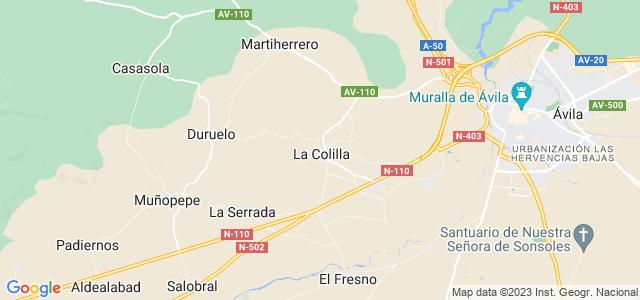 Mapa de Colilla