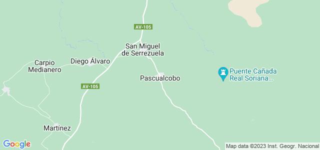 Mapa de Pascualcobo