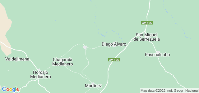Mapa de Diego del Carpio