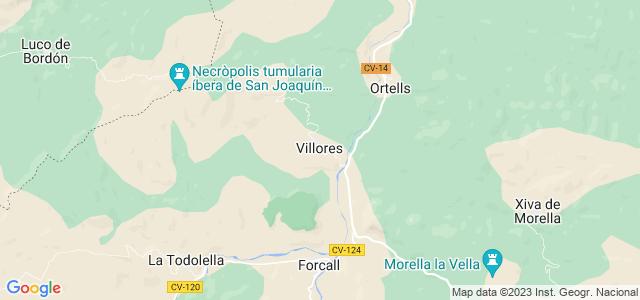 Mapa de Villores