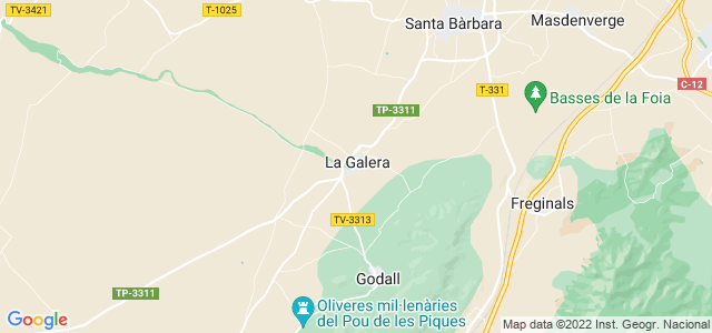 Mapa de Galera